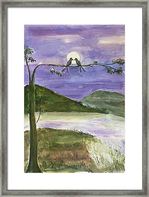 Framed Print featuring the painting Untitled by Geeta Biswas