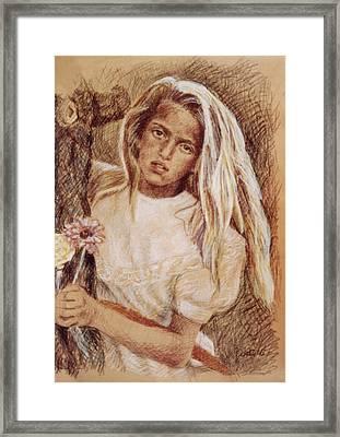 Untitled Girl Framed Print