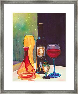 Untitled Glass Framed Print by Terry Honstead