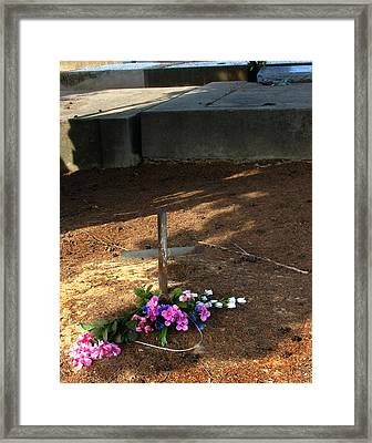 Untitled Grave Framed Print