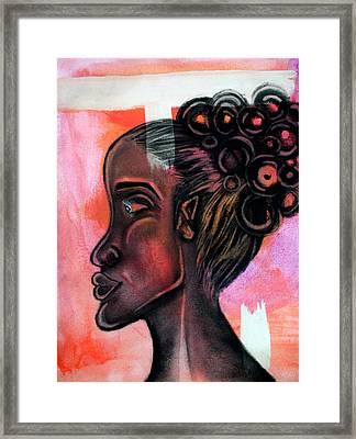 Untitled Lady II Framed Print
