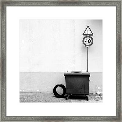 Untitled 20150803 Framed Print by Marco Oliveira