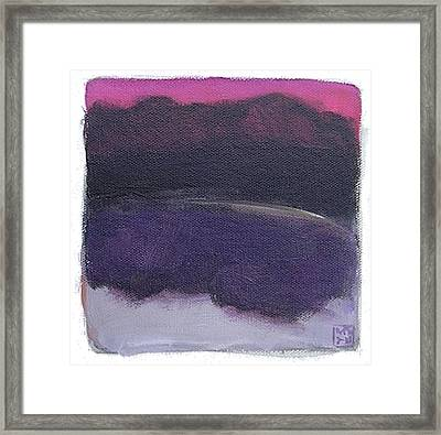 Untitled Framed Print by Mary Brooking