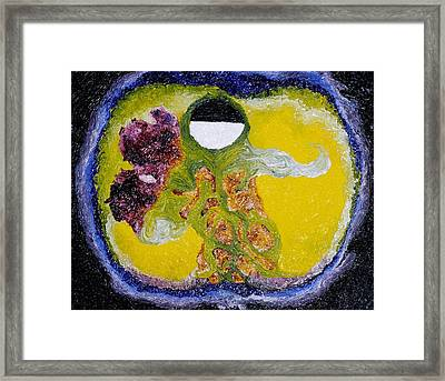 Framed Print featuring the painting Untitled by Meagan  Visser