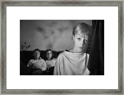 Untitled Framed Print by Mirjam Delrue