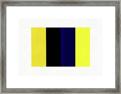Untitled Number 3 Framed Print by Dan Sproul