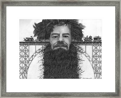 Train Of Thoughts Framed Print by Richie Montgomery