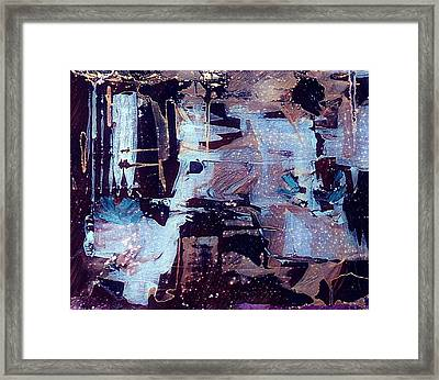 Framed Print featuring the painting Untitled by 'REA' Gallery