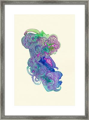 Untitled - #ss14dw037 Framed Print by Satomi Sugimoto