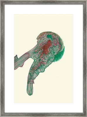 Untitled - #ss14dw047 Framed Print by Satomi Sugimoto