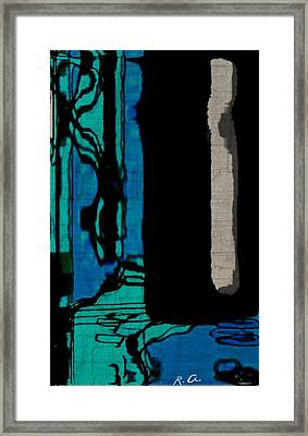 Untitled Stand Still Of Life Framed Print by Rene Avalos