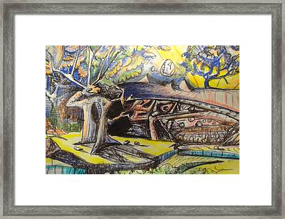 Framed Print featuring the mixed media Untitled by Steven Holder