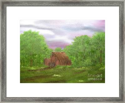 Untitled Framed Print by Todd Androy