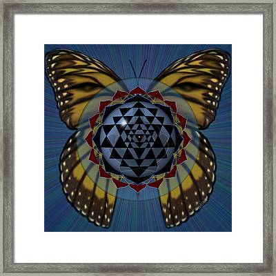 Transforming Meditation Framed Print
