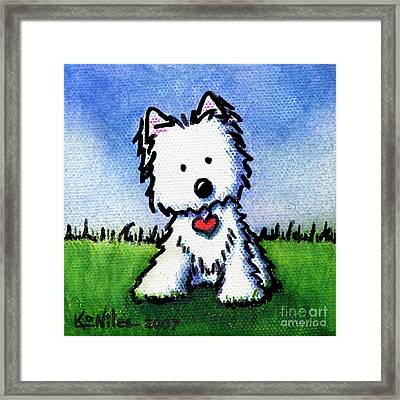 Untitled Westie Framed Print