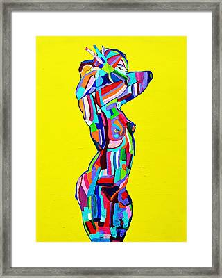 Untitled Yellow  Framed Print