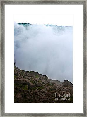 Framed Print featuring the photograph The Wall Of Water by Dana DiPasquale