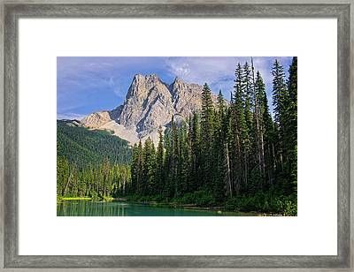 Unto The Hills Framed Print by Lucinda Walter