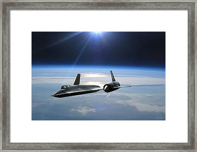 Untouchable Framed Print by Peter Chilelli