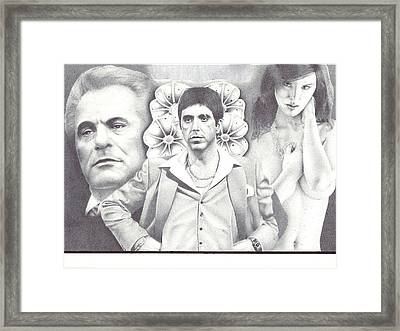 Untouchable Framed Print by Zachary Sullivan