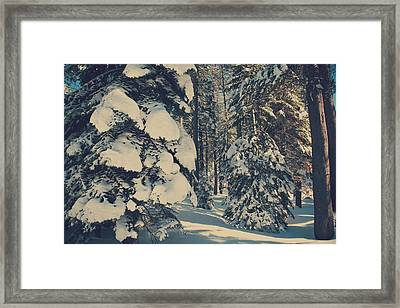 Untouched Framed Print
