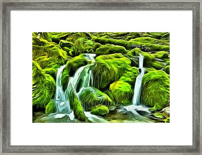 Untouched Nature - Da Framed Print