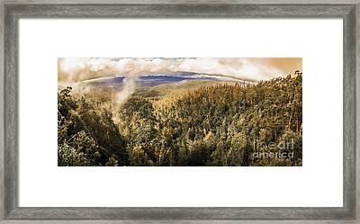 Untouched Wild Wilderness Framed Print