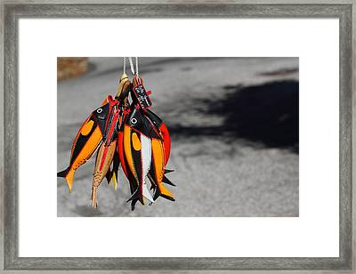 Framed Print featuring the photograph Unusual Catch by Richard Patmore