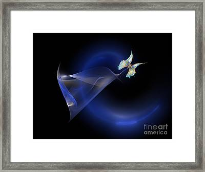 Unveiling Framed Print by Elaine Manley