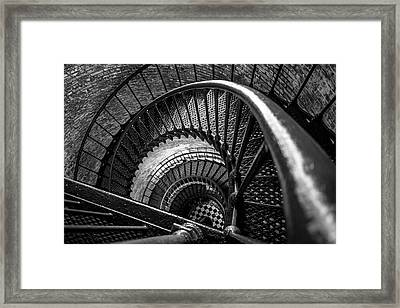 Unwind  - Currituck Lighthouse Framed Print