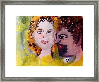 Unwind Framed Print by Judith Desrosiers