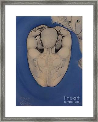 Unwind Framed Print by Maria Soledad De la Riva