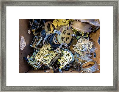 Unwinding Framed Print by Christopher Holmes