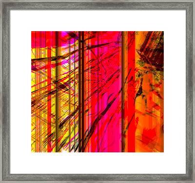 Unyielding Framed Print by Fania Simon