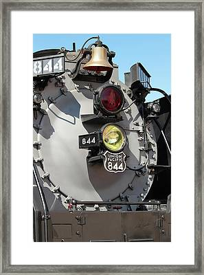 Up 844 Bell And Headlights Framed Print