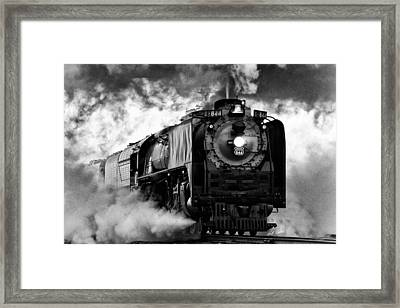 Up 844 Steaming It Up Framed Print