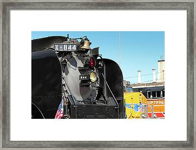 Up 844 With Friends Framed Print