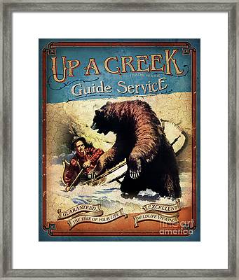 Up A Creek 2 Framed Print by JQ Licensing