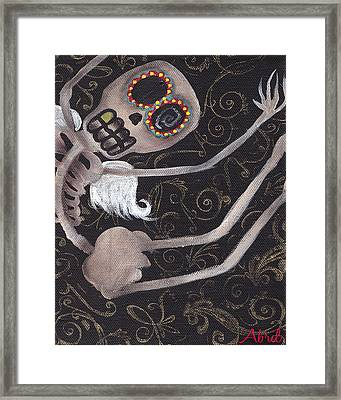 Up  Framed Print by  Abril Andrade Griffith