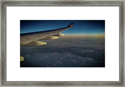 Up And Above Framed Print