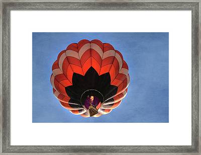 Up And Away In Reno Framed Print