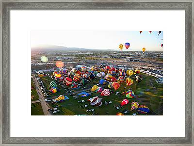 Up And Away Framed Print by Joe Myeress