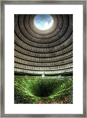Up And Down Framed Print by Nathan Wright