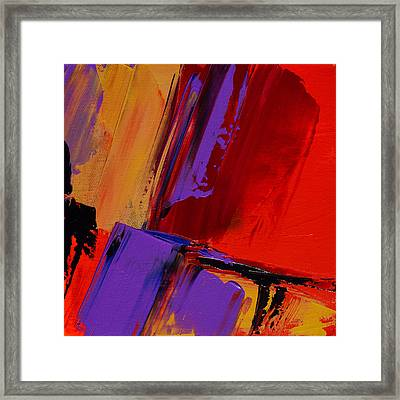 Up And Down - Art By Elise Palmigiani Framed Print by Elise Palmigiani