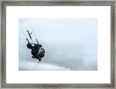 Up And Up Framed Print