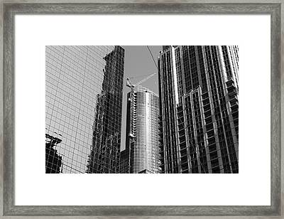Up And Up Framed Print by Kreddible Trout