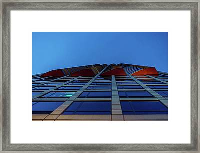 Up Angles Framed Print