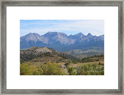 Up-close In Early Autumn   Framed Print