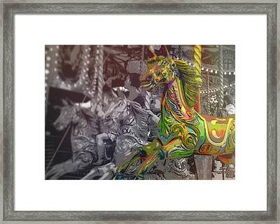Up Down And Around London Framed Print by JAMART Photography