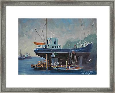 Up For Repairs Framed Print
